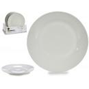 wholesale Crockery: plate plain porcelain 24,4cm white