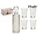 Großhandel Nahrungs- und Genussmittel: Glas Shot Set 4 Schnapsglas