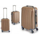 wholesale Suitcases & Trolleys:suitcase abs beige lines