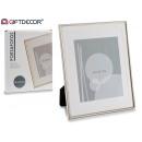 cornice per foto in alluminio 20x25 stampo paspart