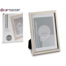 Cornice per foto in alluminio 13x18 stampo largo l