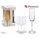 wholesale Drinking Glasses: set of 4 allegra 195cc cups
