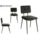 leather chair quad style alaska neg