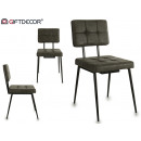 gray leather chair style alaska gray