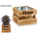 flowerpot simple natural flower