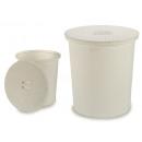 mayorista Casa y cocina: cesto para colada rattan 50l redondo blanco