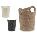 wholesale Household & Kitchen: Rattan basket medium with round handles sorted