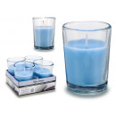 wholesale Drinking Glasses: set of 4 candles glass clean clothes 6h