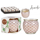 scented candle jar coconut