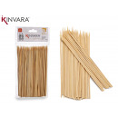 set de 85 brochettes en bambou 15cm