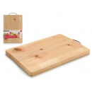 cutting board bamboo 33x23x1,8cm