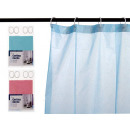 bathroom curtain 180x180 half colors 3 times assor