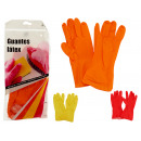 latex gloves colors 3 times assorted size m