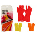 latex gloves colors 3 times assorted size xl