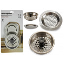 set of 2 sink filters with plug