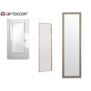 mirror door 30x120 gray wood
