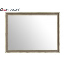 Großhandel Spiegel: Spiegel 50x70 graues Holz