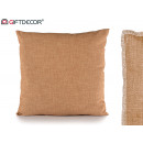 cushion 40x40 light brown