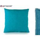 40x40 turquoise cushion