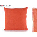 40x40 orange cushion
