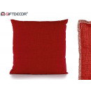40x40 red cushion