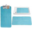 wholesale Bath & Towelling: anti-slip carpet light blue waves