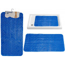 wholesale Bath & Towelling:navy blue wave slip mat