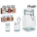 wholesale Household & Kitchen: set of 3 hermetic closing jars 250 ml