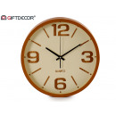 wholesale Clocks & Alarm Clocks:round clock 40 cm wood