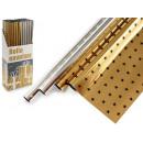 Rotolo metallico 70x150cm stelle 2 volte assortiti