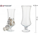 grande tasse en verre avec pied 20 diamètre