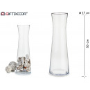 forme de pot en verre 50 cm