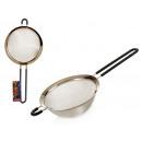 mayorista Jardin y Bricolage: colador14cm diámetro acero con silicona, 2 veces s