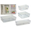 wholesale Other: set of 4 transparent plastic organizers