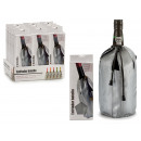 bottle wine cooler gray