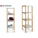 wholesale Bath Furniture & Accessories: bambu shelving 4 white floors