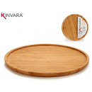 large bambu round appetizer table
