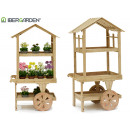 wooden Display cart