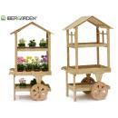 drewniany wózek Display