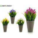 wholesale Artificial Flowers: flower pot gray flower bell, colors 4 times ...