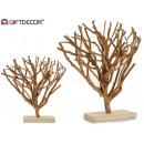 ozdobne gałęzie z naturalnego drewna