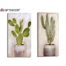 toile originale 50x100 cactus 2 fois assorti