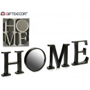mirror sign home 2 times assorted white black