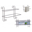 Double towel rail support