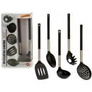 wholesale Household Goods: set of 5 black handle utensils