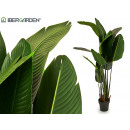 wholesale Artificial Flowers: plant stems straight leaves tip 180 cm