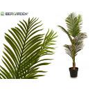 mayorista Casa y decoración: planta hojas finas punta verde 110 cm
