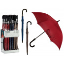 umbrella handle black colors 3 times assorted dark
