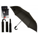 black handle folding umbrella