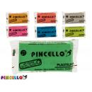 Knetmasse 170gr Pille, farblich sortiert